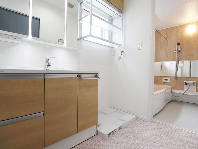 フォーセンス新築完成 洗面|滋賀で家を建てるなら匠工房