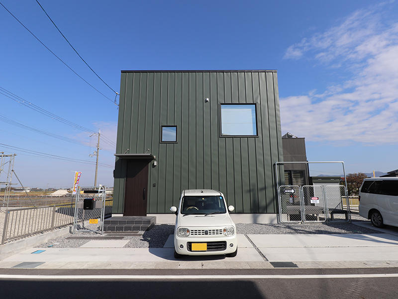 新築ゼロキューブ 外観|滋賀で新築建てるなら匠工房