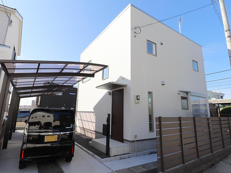 ゼロキューブ 外観|滋賀で新築建てるなら匠工房