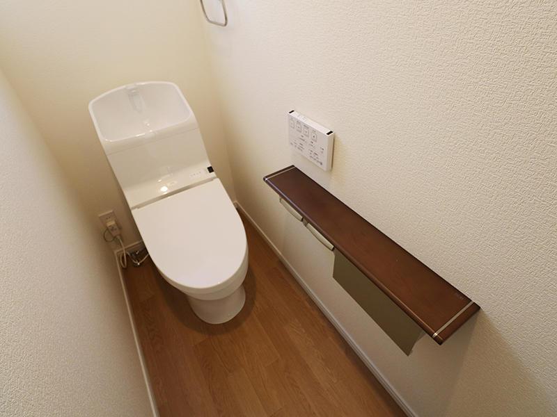 フォーセンス完成 1階 トイレ|滋賀で家を建てるなら匠工房