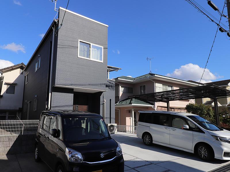 新築フォーセンス完成 落ち着いた色合い|滋賀で家を建てるなら匠工房