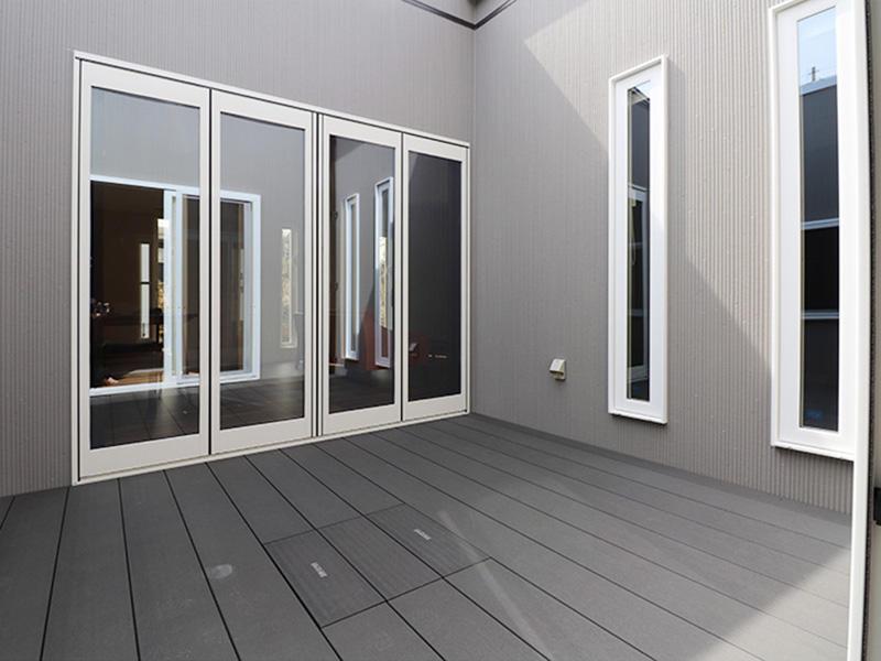 ゼロキューブ完成 リウッドデッキ|滋賀で家を建てるなら匠工房