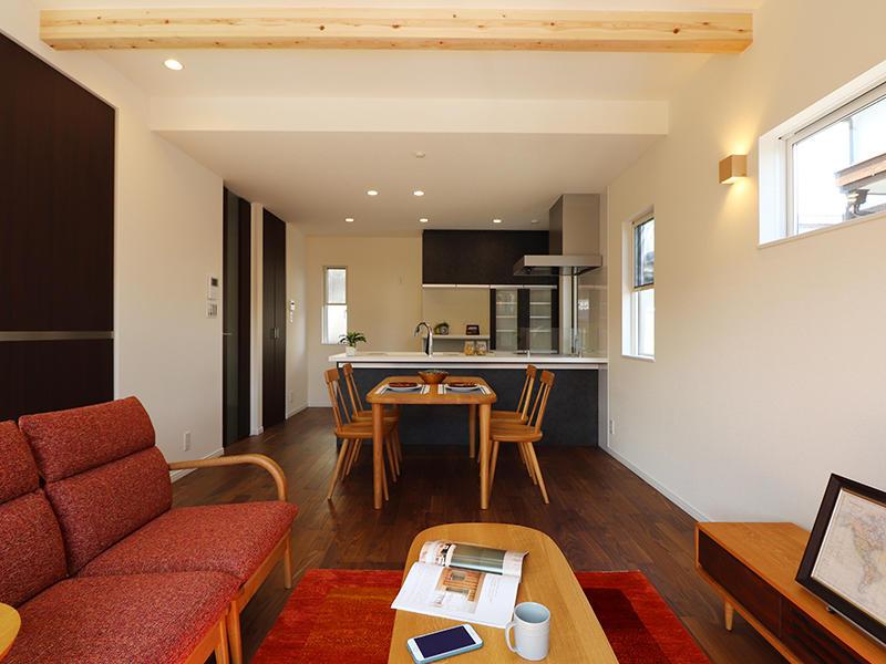 フォーセンス完成 リビング・ダイニング|滋賀で家を建てるなら匠工房