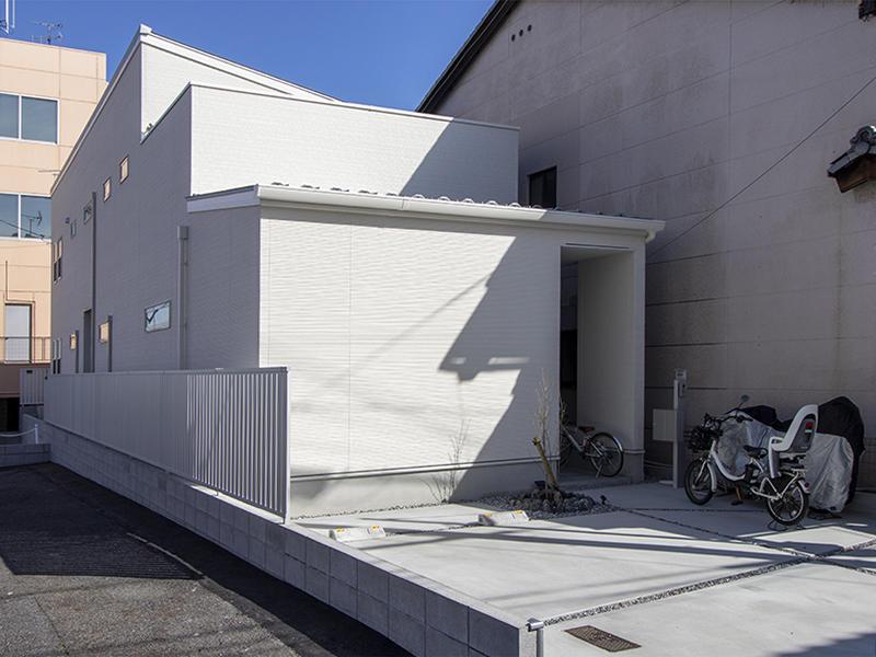 二世帯住宅フォーセンス新築完成|外観