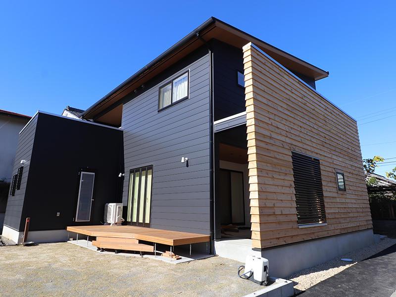 新築完成 外観|滋賀で家を建てるなら匠工房