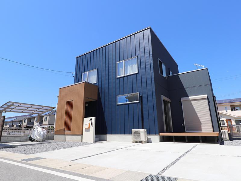 新築ゼロキューブ完成 外観|滋賀で家を建てるなら匠工房