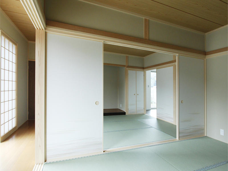 新築 蒲生郡 建て替え 和室