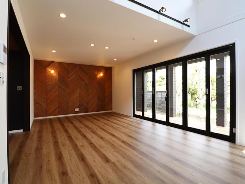 新築ゼロキューブマリブ完成 リビング・ダイニング|滋賀で建てるなら匠工房