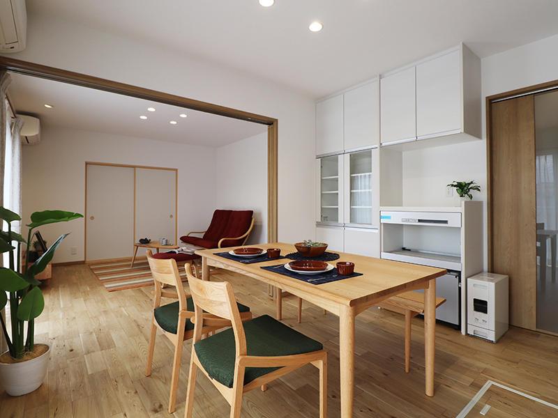 新築フォーセンス完成 ダイニング|滋賀で家を建てるなら匠工房