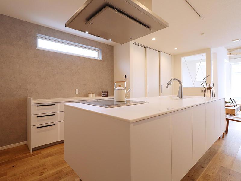 二世帯住宅フォーセンス新築完成|アイランドキッチン
