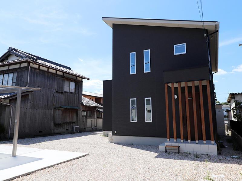 近江八幡市フォーセンス新築施工事例