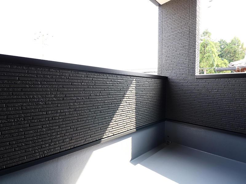 新築フォーセンス完成 バルコニー|滋賀で家を建てるなら匠工房