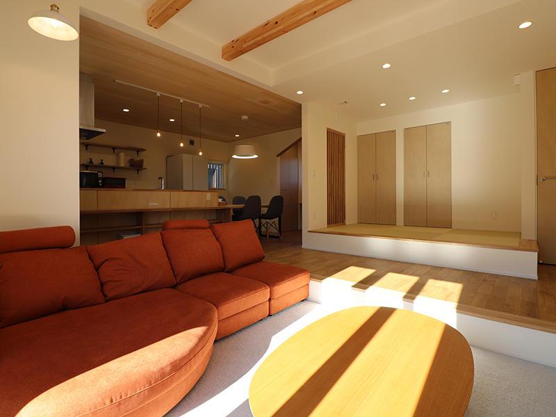 新築完成 ピットリビング|滋賀で家を建てるなら匠工房