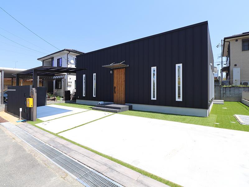 ゼロキューブ完成 外観|滋賀で家を建てるなら匠工房