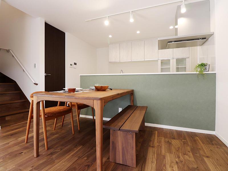 新築フォーセンス完成 ダイニングスペース|滋賀で家を建てるなら匠工房