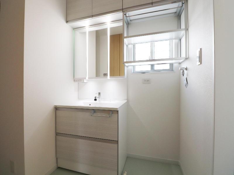 フォーセンス新築完成 洗面台|滋賀で家を建てるなら匠工房