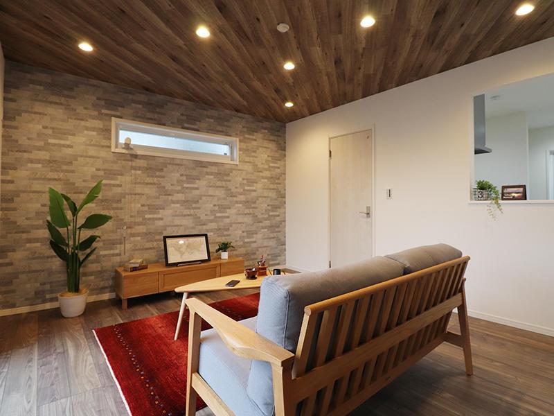ゼロキューブ新築完成 リビング|滋賀で家を建てるなら匠工房