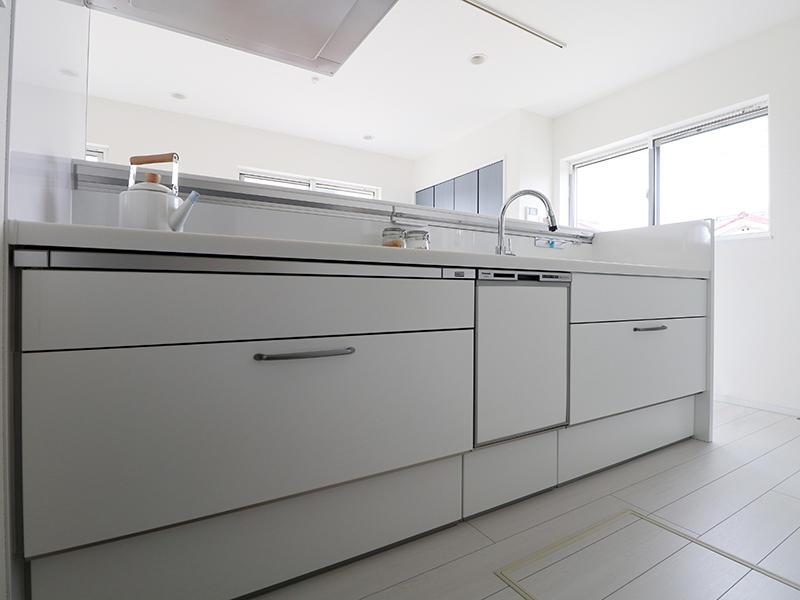 新築フォーセンス完成 システムキッチン|滋賀でリフォームするなら匠工房