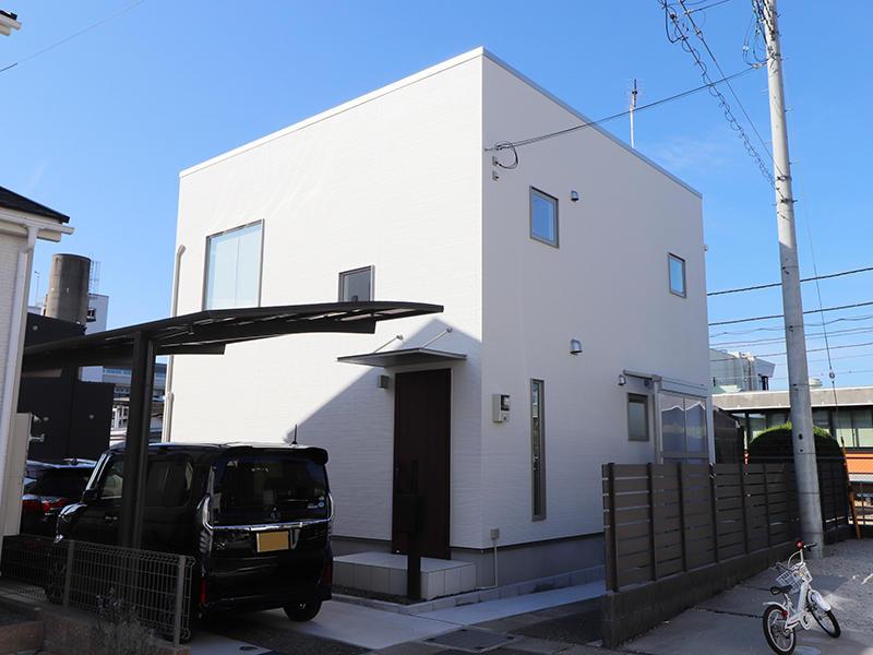 ゼロキューブ 外構|滋賀で新築建てるなら匠工房