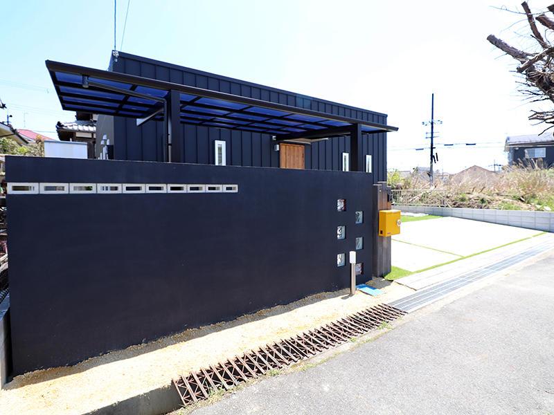 ゼロキューブ完成 外構|滋賀で家を建てるなら匠工房