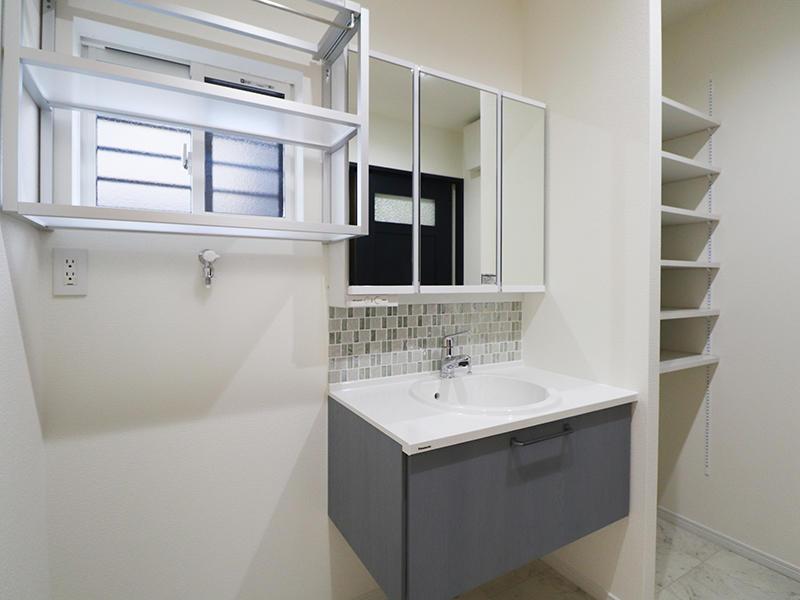 フォーセンス完成 洗面台|滋賀で家を建てるなら匠工房