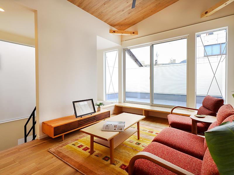 二世帯住宅フォーセンス新築完成|2階 リビング