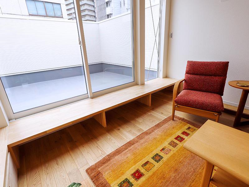 二世帯住宅フォーセンス新築完成|縁側を配置