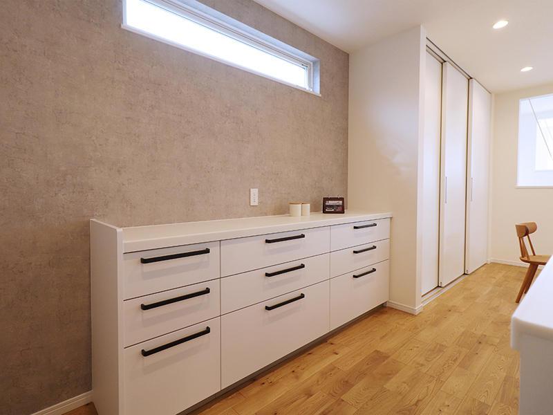 二世帯住宅フォーセンス新築完成|カップボード