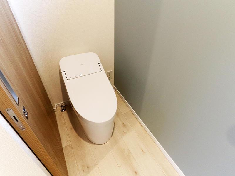 二世帯住宅フォーセンス新築完成|2階トイレ
