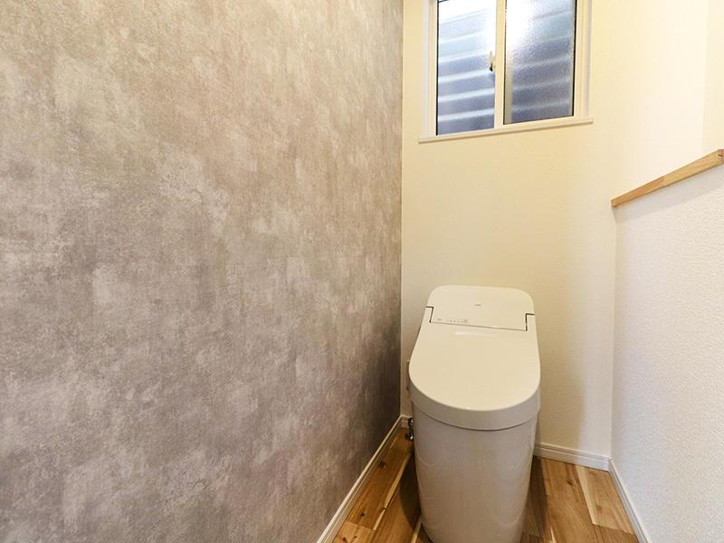 二世帯住宅フォーセンス新築完成|1階トイレ