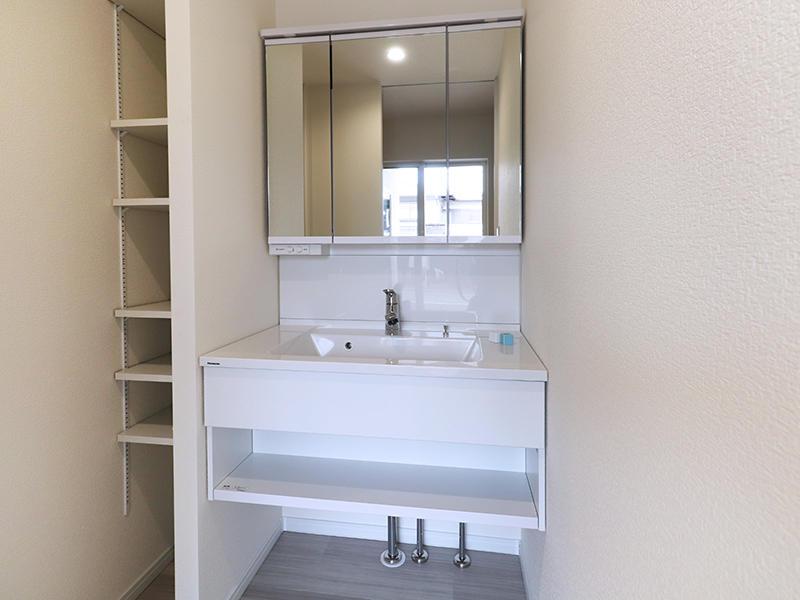 二世帯住宅フォーセンス新築完成|洗面