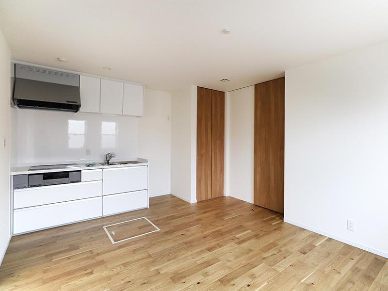 二世帯住宅フォーセンス新築完成|システムキッチン