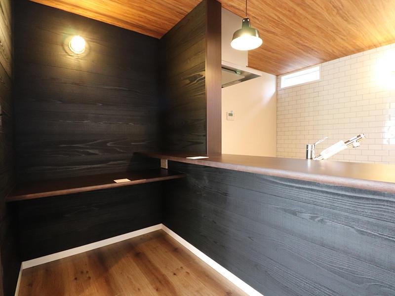 新築ゼロキューブマリブ完成 書斎スペース|滋賀で建てるなら匠工房
