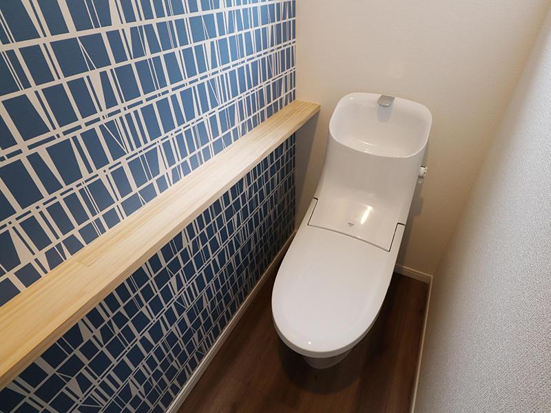 新築ゼロキューブマリブ完成 トイレ|滋賀で建てるなら匠工房