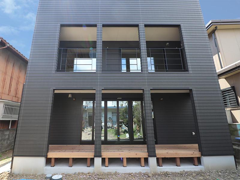 新築ゼロキューブマリブ完成 外観|滋賀で建てるなら匠工房