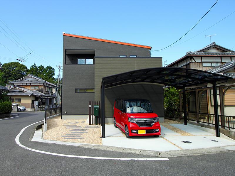 新築フォーセンス完成 外構|滋賀で家を建てるなら匠工房