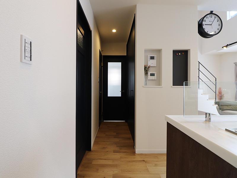 フォーセンス完成 廊下|滋賀で家を建てるなら匠工房