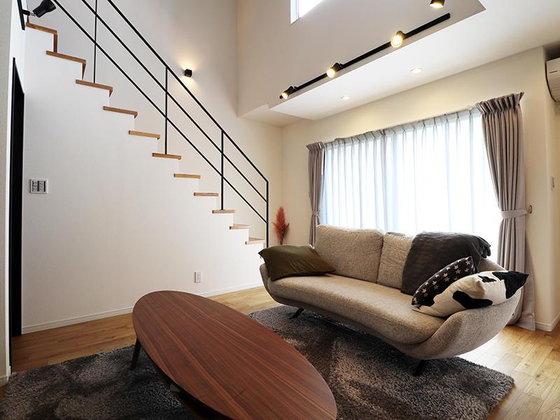 フォーセンス完成 リビング|滋賀で家を建てるなら匠工房
