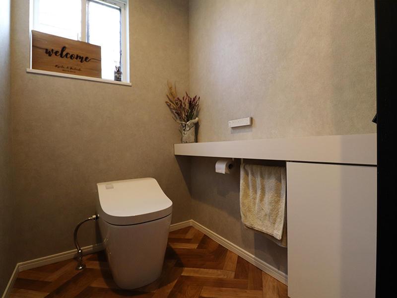フォーセンス完成 トイレ|滋賀で家を建てるなら匠工房