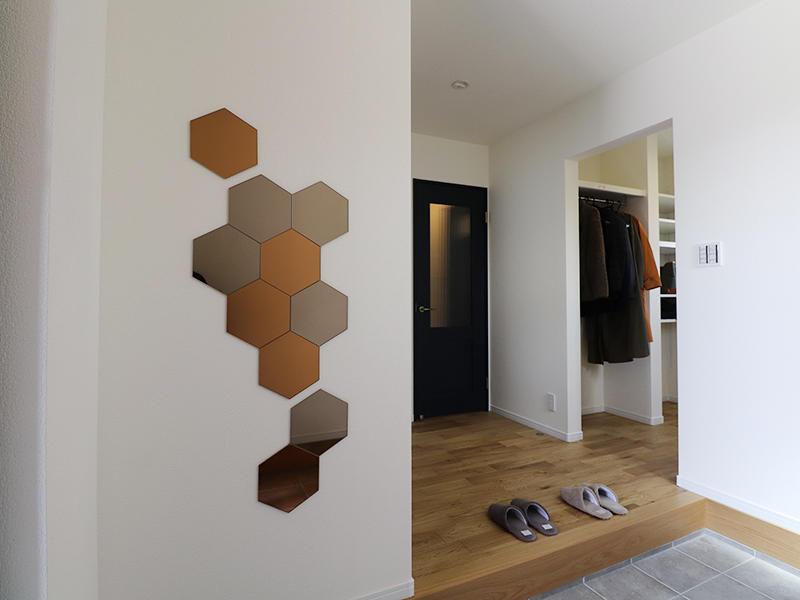 フォーセンス完成 玄関ホール|滋賀で家を建てるなら匠工房