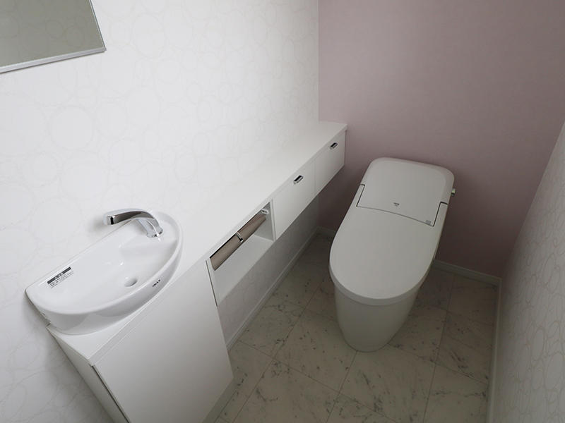 新築フォーセンス完成 トイレ|滋賀でリフォームするなら匠工房