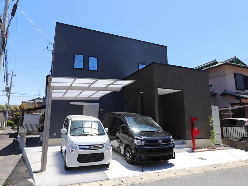フォーセンス新築完成 外壁|滋賀で家を建てるなら匠工房