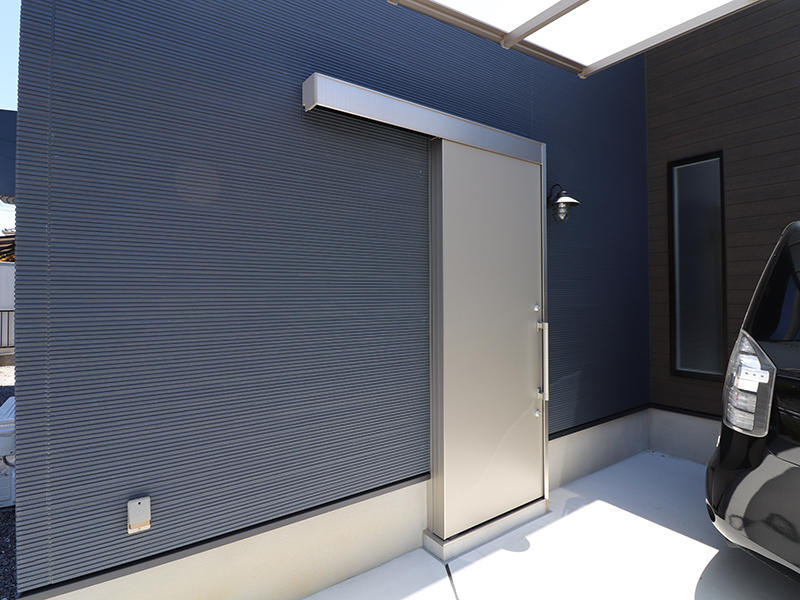 フォーセンス新築完成 土間への入り口|滋賀で家を建てるなら匠工房