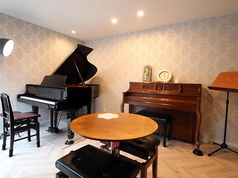 新築フォーセンス完成 ピアノ教室|滋賀で家を建てるなら匠工房