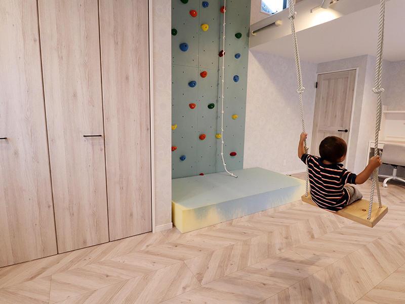 新築フォーセンス完成 ロッククライミング・ブランコ|滋賀で家を建てるなら匠工房