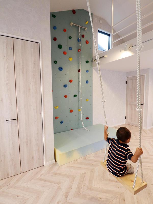 新築フォーセンス完成 ブランコ|滋賀で家を建てるなら匠工房