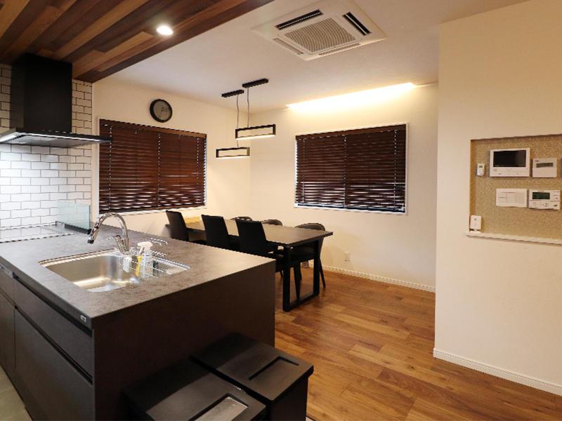 新築フォーセンス完成 キッチン・ダイニング|滋賀で家を建てるなら匠工房