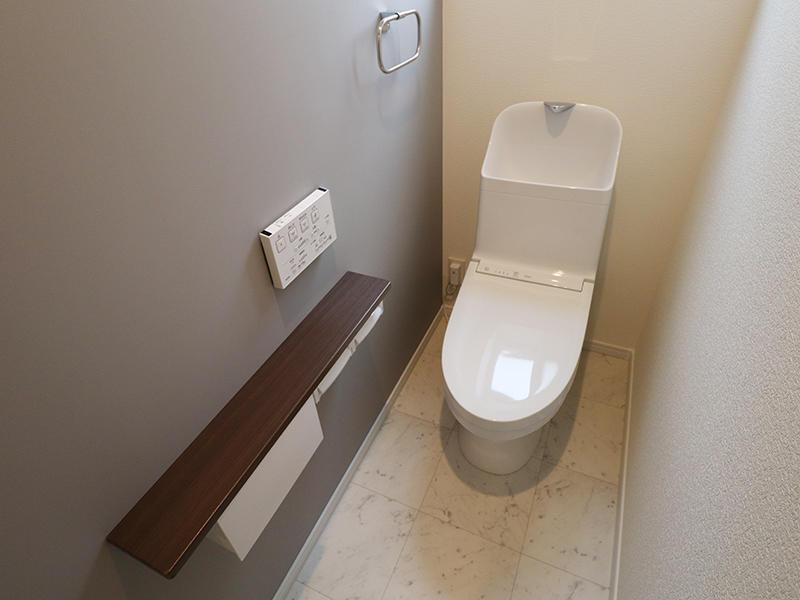 新築フォーセンス完成 2階 トイレ|滋賀で家を建てるなら匠工房