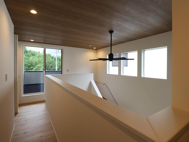 新築フォーセンス完成 シーリングファン|滋賀で家を建てるなら匠工房