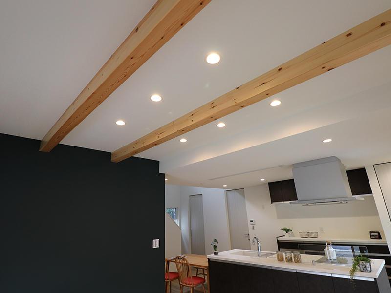 新築フォーセンス完成 梁見せ|滋賀で家を建てるなら匠工房
